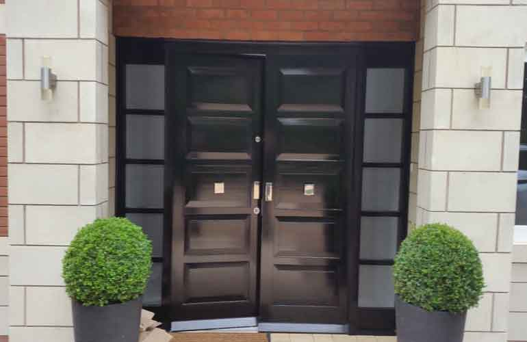little aston double doors with side lights & External security doors UK manufactured u0026 police approved pezcame.com