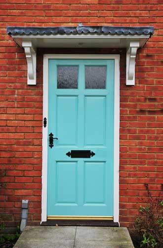 Steel Front Security Door