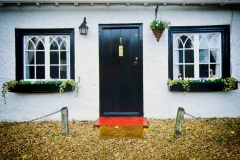 cottage front security door