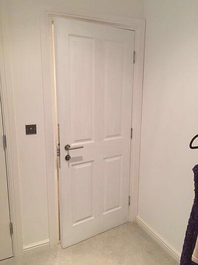 Timber encased 4 panel combo henleys security doors for Door 4 security