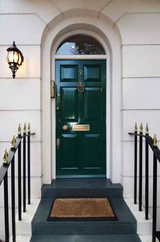 london front security door steel