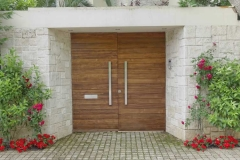 Bespoke double external security door