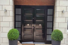 little aston double doors with side lights