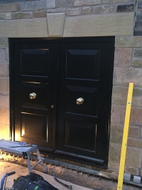 accoya-security-double-doors-black