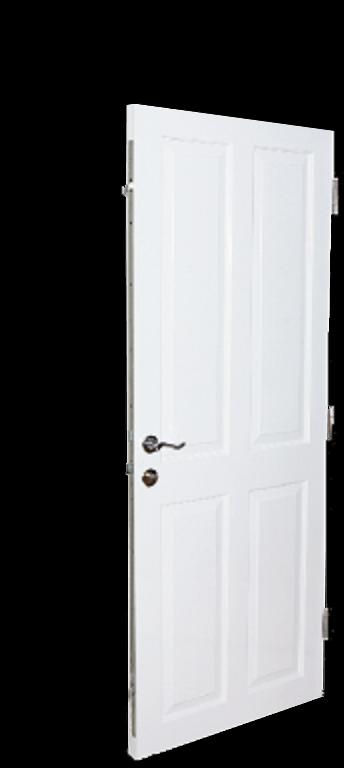 Reinforced security door burglary