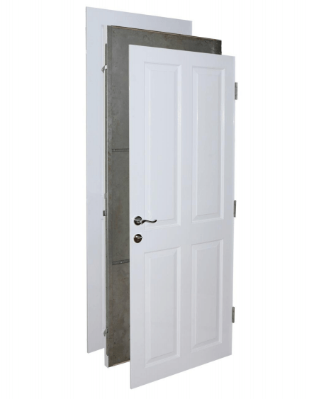Secure steel door for homes