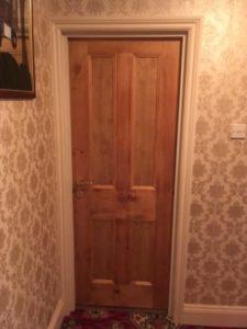 pine-bedroom-door
