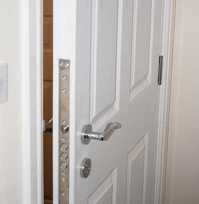 Charmant Stunning 6 Panel Wood Grained Security Door