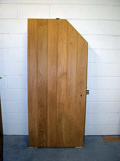 bespoke security doors oversized angled